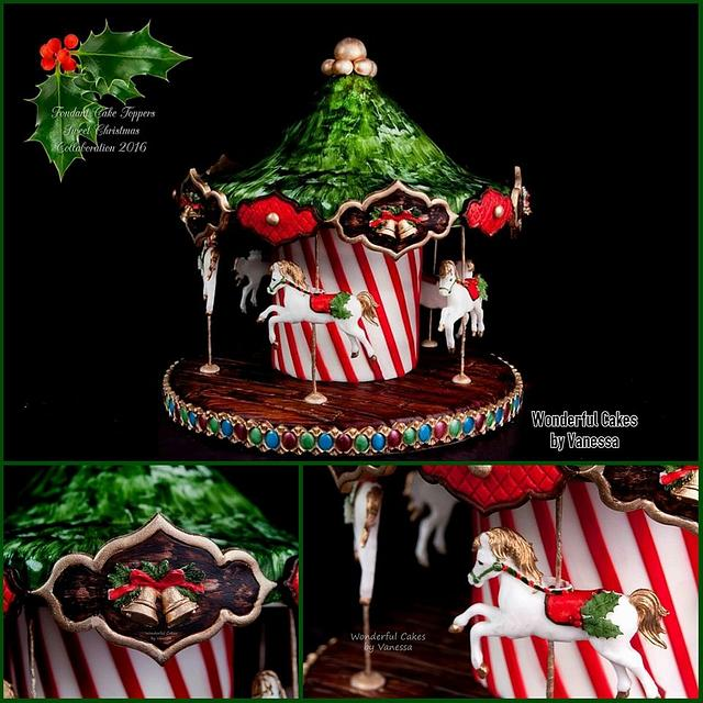 Sweet Christmas Collaboration - Christmas Carousel