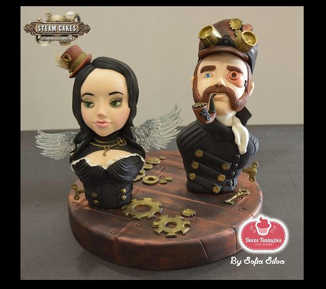 Steam Cakes - Steampunk Collaboration 2018