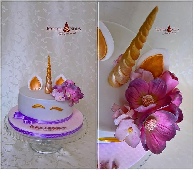Sweet flower unicorn