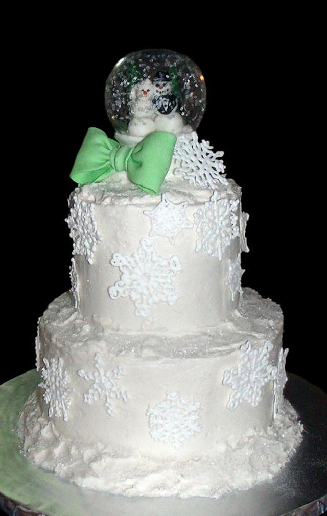 Winter (non)Wedding Cake