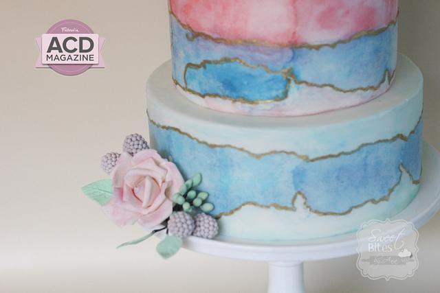 Modern Bride cake for ACD Magazine