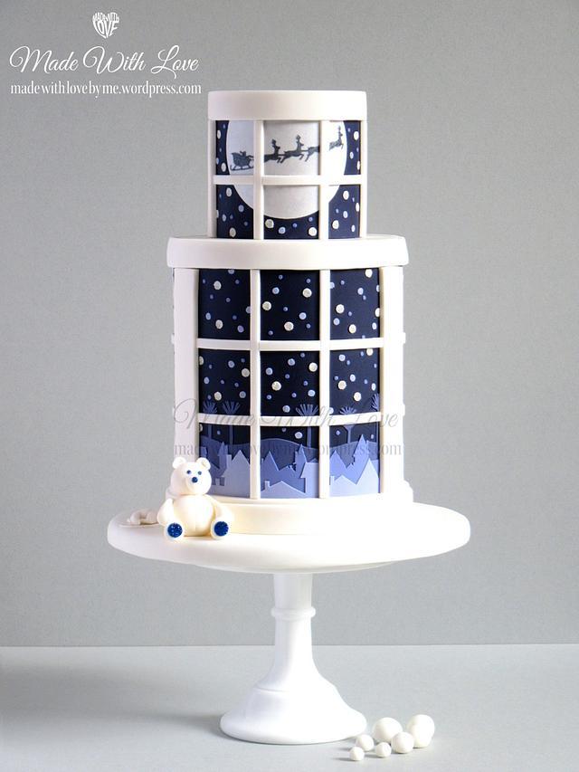 'Twas the Night Before Christmas' Cake