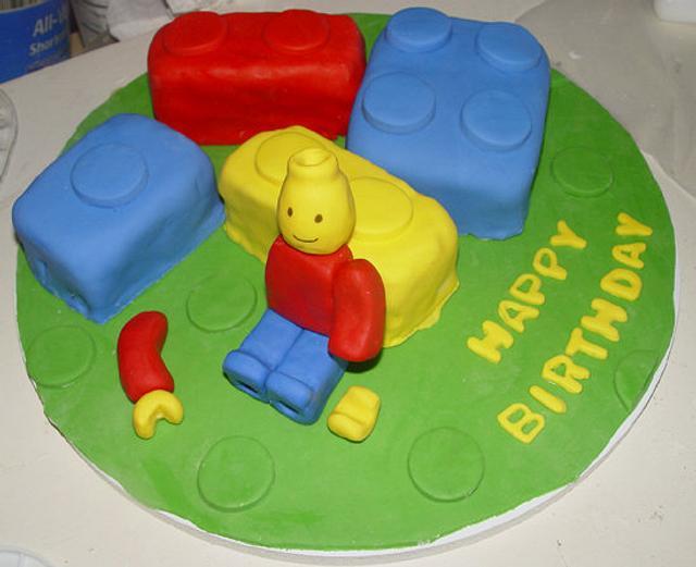 Lego Birthday Cake