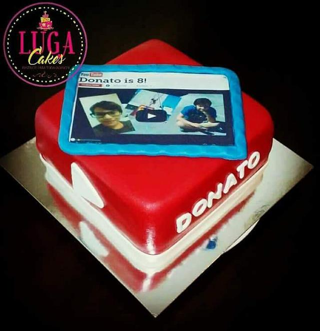 Groovy Youtube Tablet Cake Cake By Luga Cakes Cakesdecor Personalised Birthday Cards Paralily Jamesorg