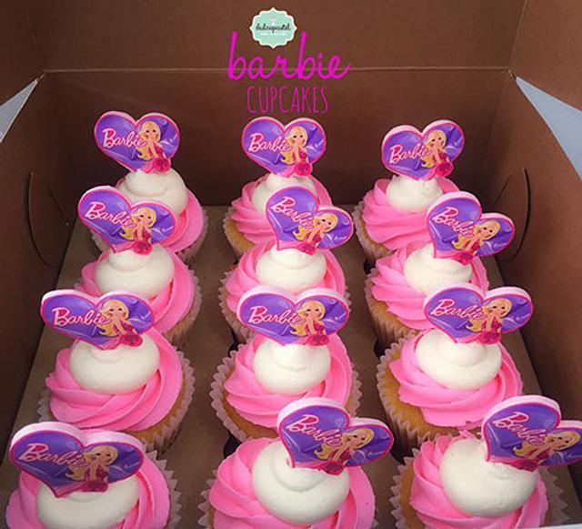 Cupcakes Barbie en Medellín