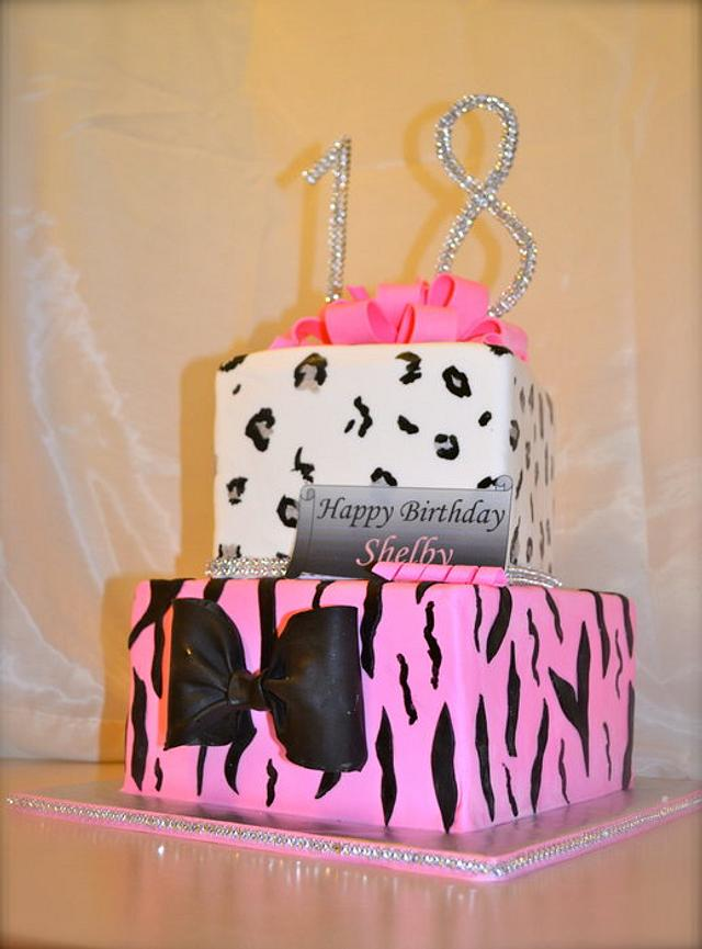 18th Girly Birthday Presents: Bling and Animal prints