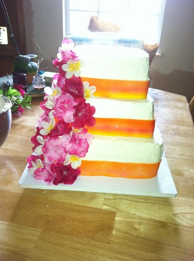 Silk Birthday Cake