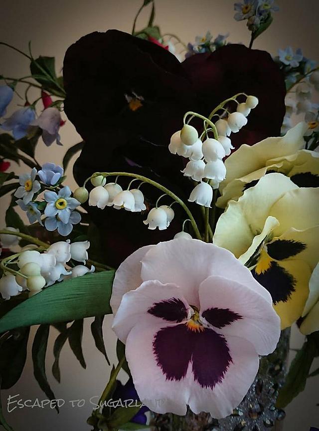 Still Life Florals: Fine Art in Sugar