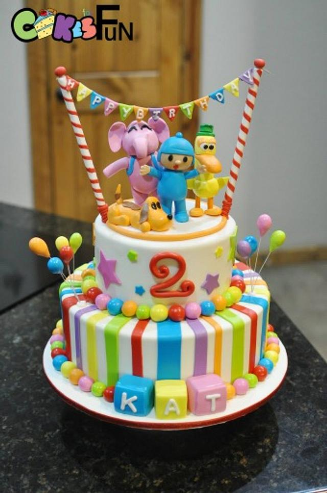 Magnificent Pocoyo Cake Cake By Cakes For Fun Cakesdecor Funny Birthday Cards Online Elaedamsfinfo