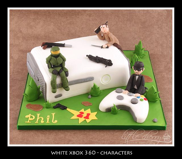Xbox with Characters