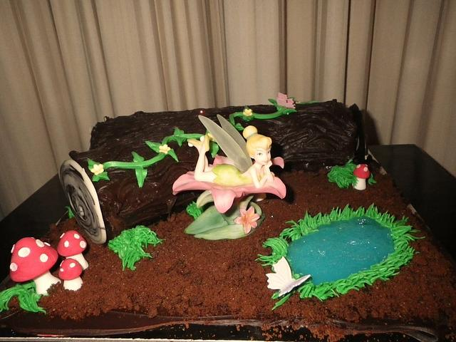 Fairy Forest Log