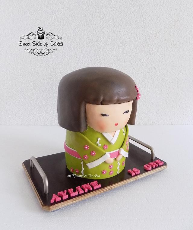 Kimmidoll (Kokeshi Doll) for Ayline