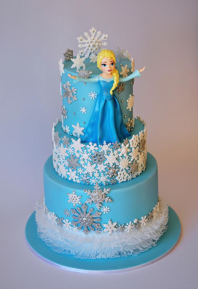 My LAST Frozen cake!