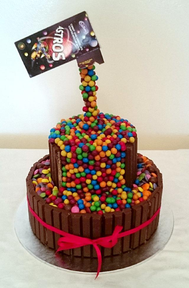 Defying Gravity Astro Cake