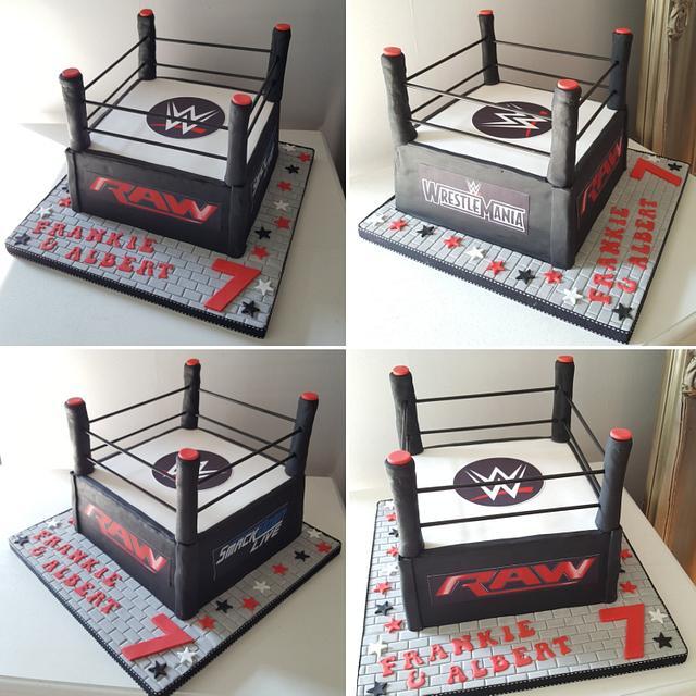Magnificent Wwe Birthday Cake Cake By Klis Cakery Cakesdecor Funny Birthday Cards Online Inifodamsfinfo