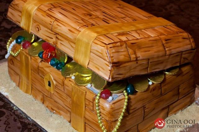 Treasure Chest Cake!
