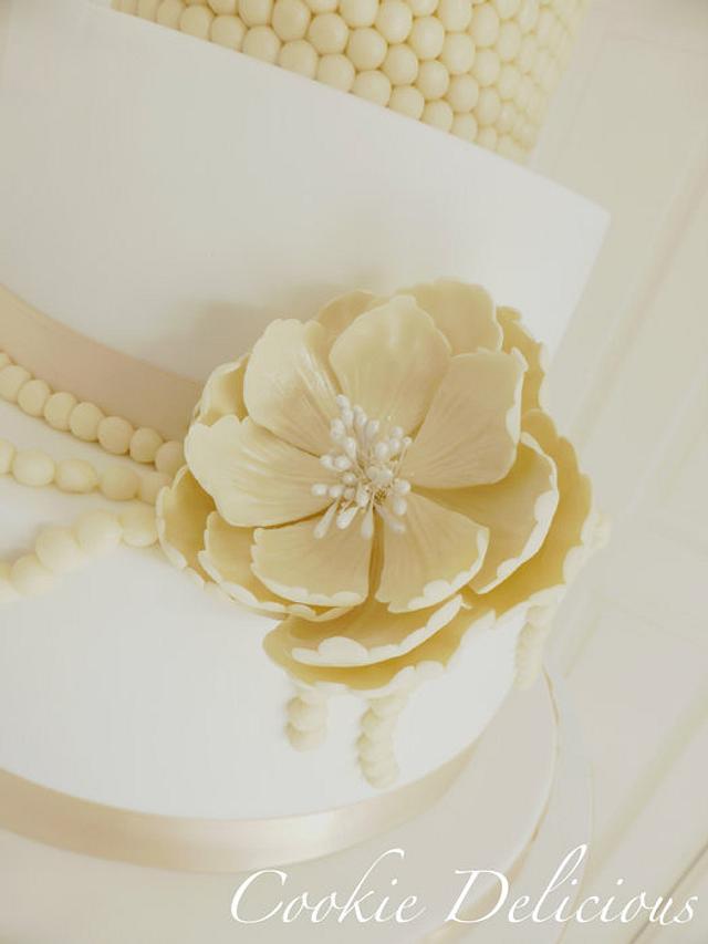 {Grace} My 1st Wedding Cake