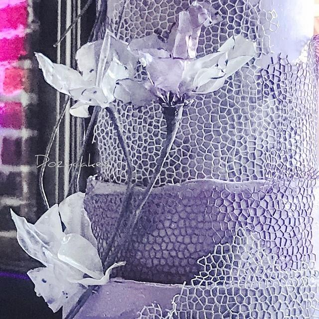 Rock House Wedding Cake