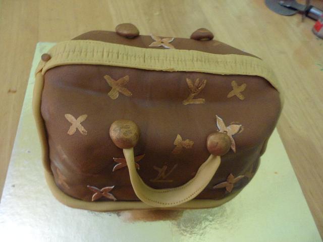 Louis Vittoun Purse Cake