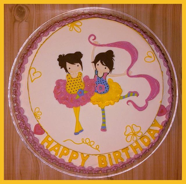 Ballerinas birthday girls 💖
