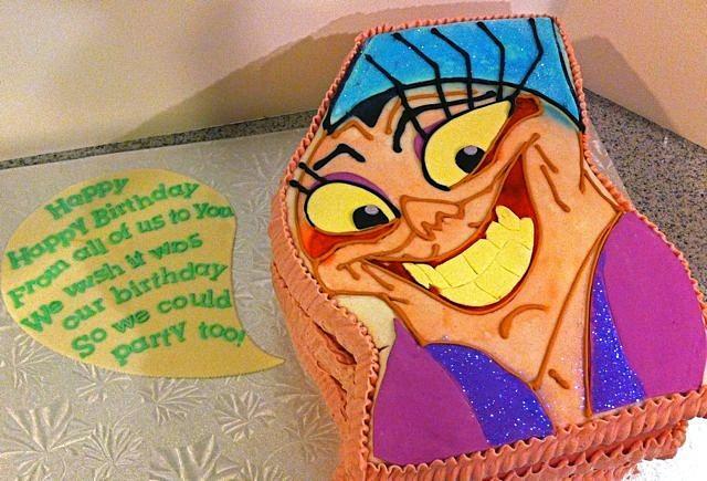 Yzma Birthday cake