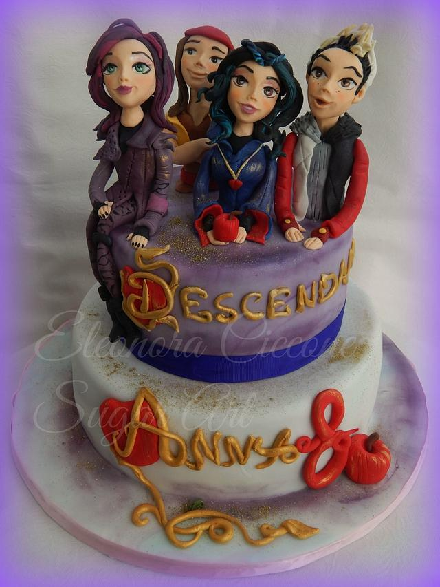 """Descendants"" cake - cake by Eleonora Ciccone - CakesDecor"