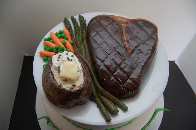 Steak Cake