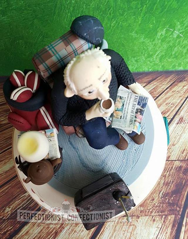 Jimmie - 80th Birthday Cake
