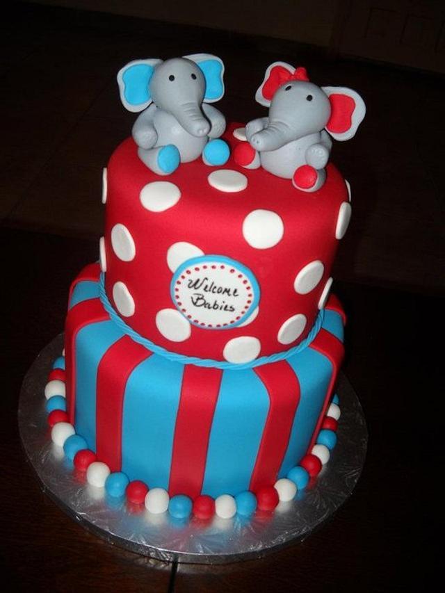 Elephants for Twins!