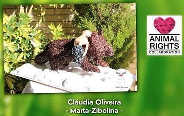 Marta-Zibelina - Animals Rights Collaboration 2016