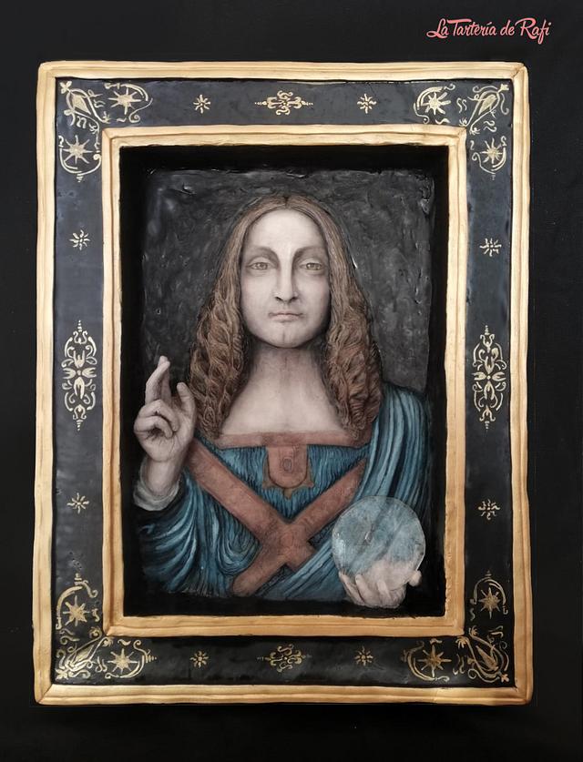 """""""Salvator Mundi"""" (Leonardo Da Vinci Challenge by Bakerswood)"""