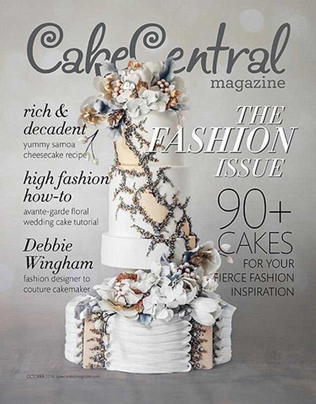 Cake Central Magazine - Fashion Ispiration vol 7, issue 4 - Ralph & Russo