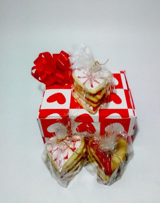 Galletas decoradas amor