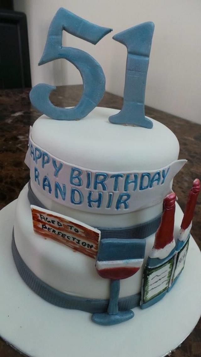 Fantastic 51St Birthday Cake Cake By Judecreations Cakesdecor Funny Birthday Cards Online Inifofree Goldxyz