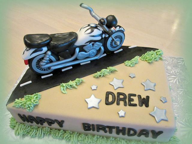 Drew's birthday cake