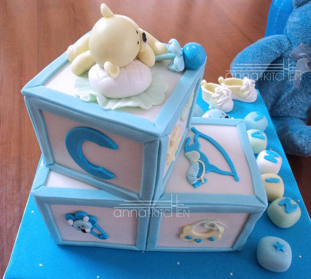 Teddy-Blocks...for baby Nihal.