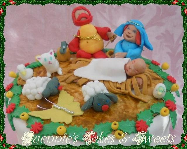 Christmas- Nativity Cake