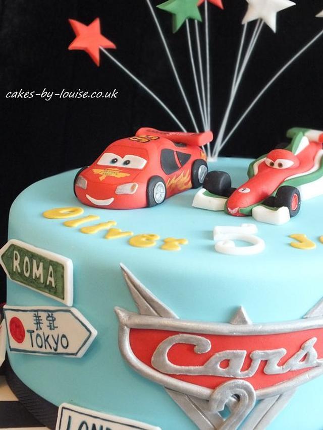 Cars 2 cake