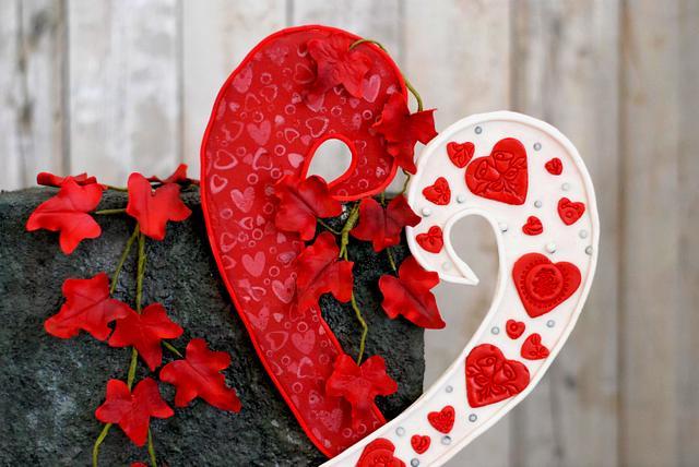 Caker buddies valentine collaboration- wall of Love