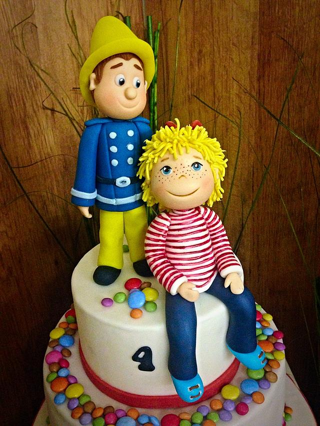 Sam and Conny birthday cake