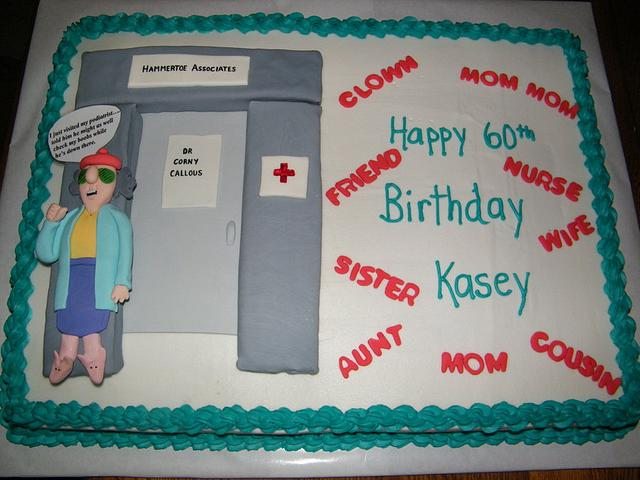 Maxine 60th birthday cake