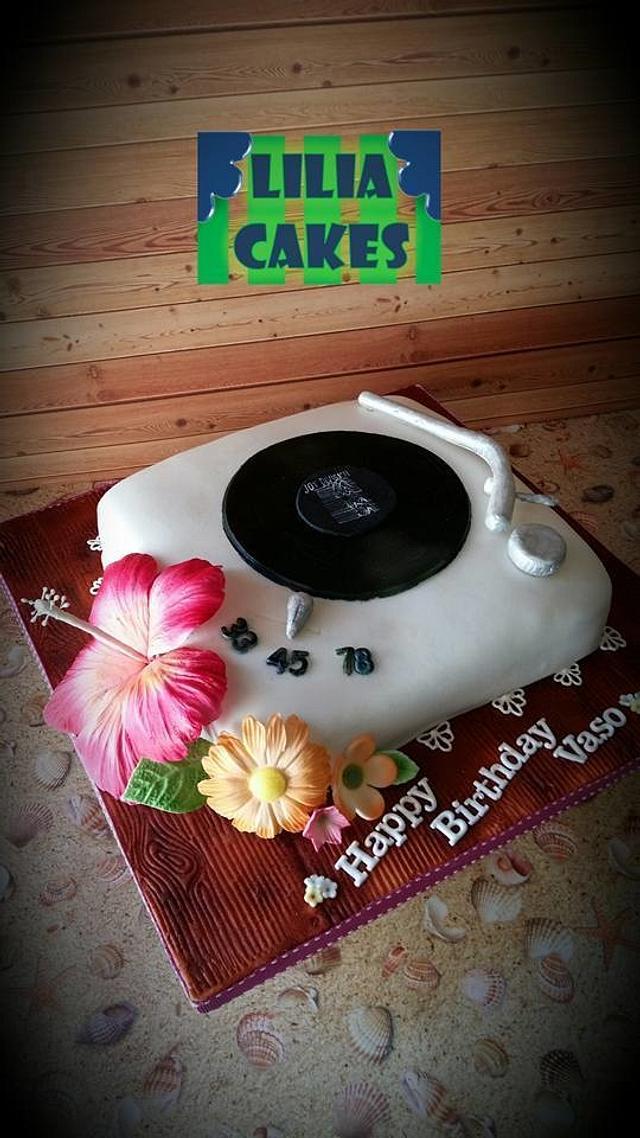 Pick Up Vinyl Cake (Joy Division)