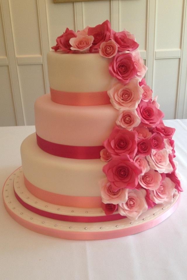 My brothers wedding cake