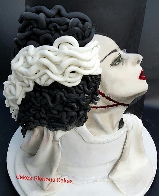Bride of Frankenstein -Cakes Glorious Cakes