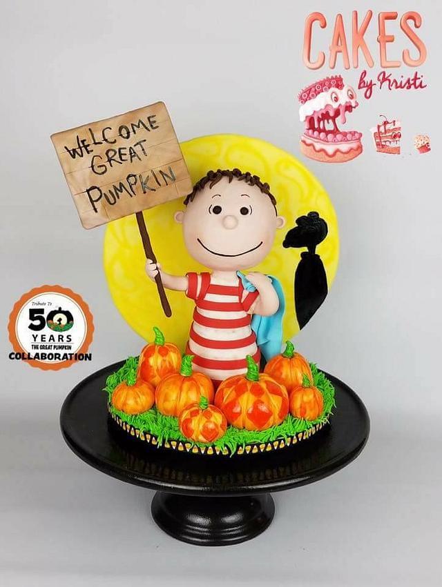 The Great Pumpkin Cake Collaboration: Linus