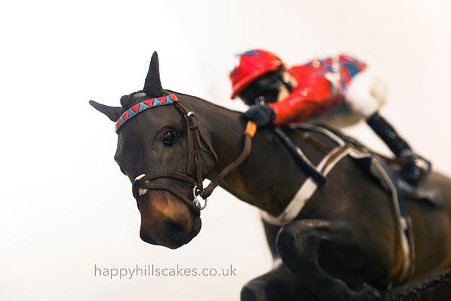 Race horse cake