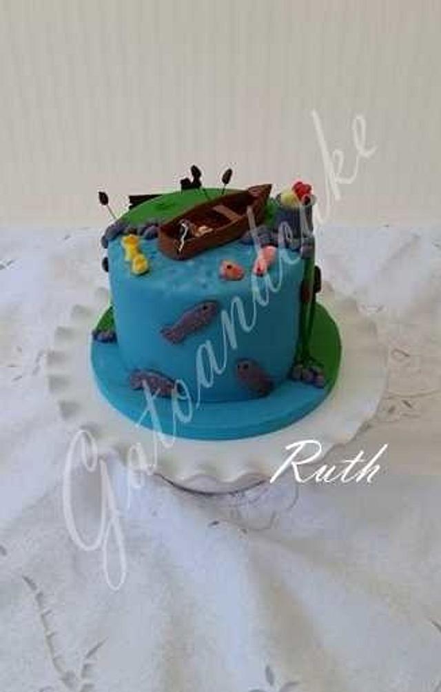 Fisching cake