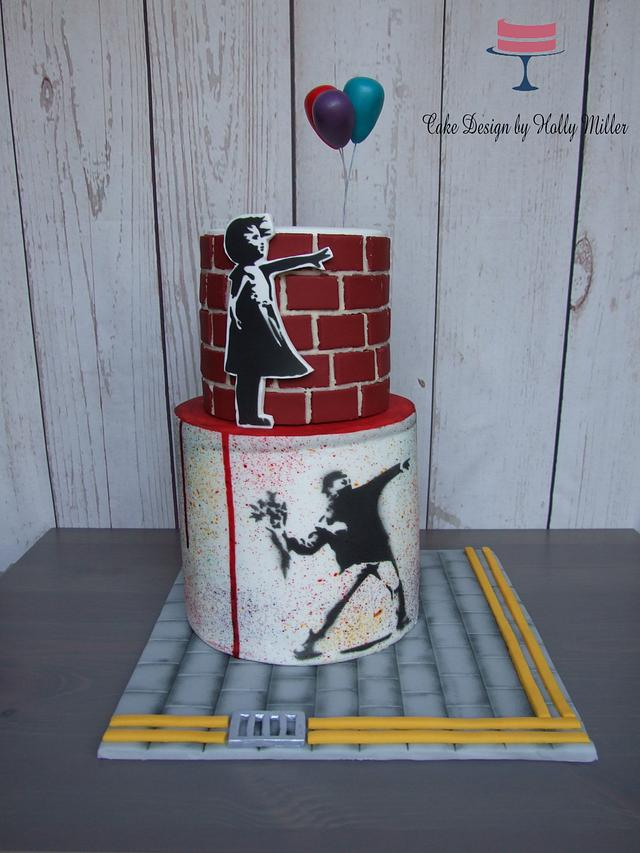 Who doesnt love a bit of Banksy?!