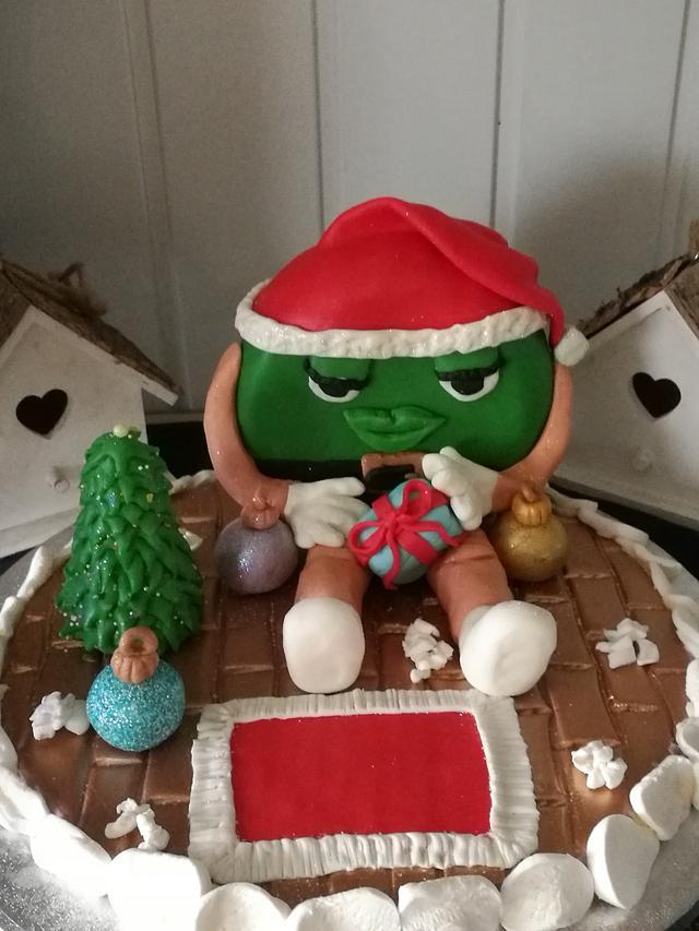 Dit is mijn kerststuk gemaakt voor de kerst collaboratie