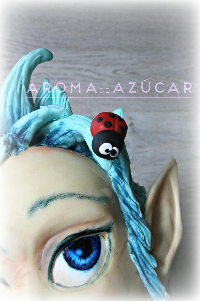 Pixie and ladybug  duendecilla y mariquita